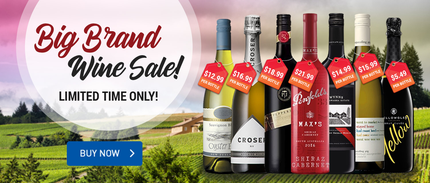 Big Brand Wine Sale