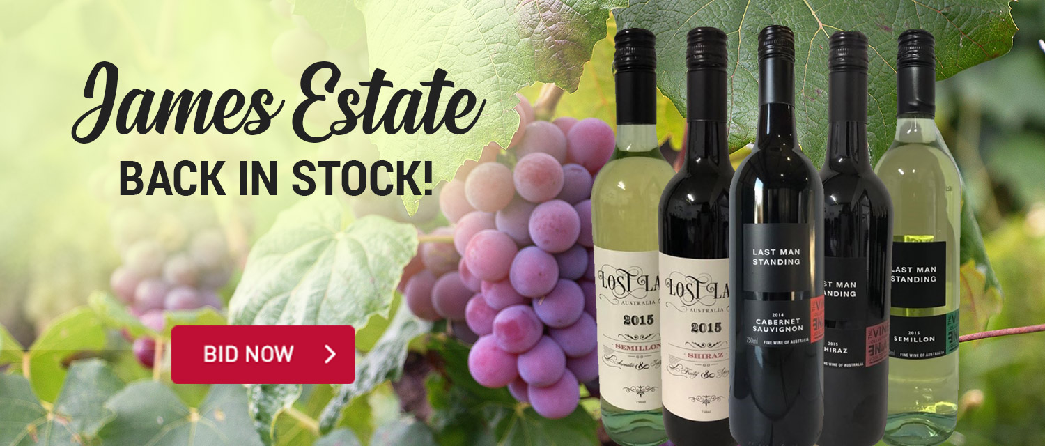 James Estate Back In Stock
