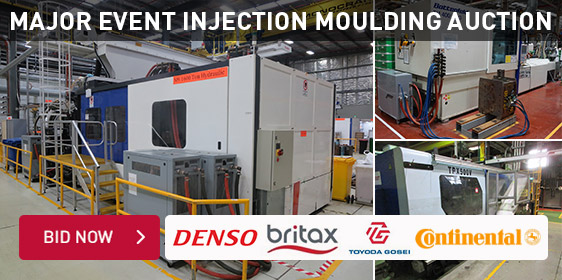 Major Event Injection Moulding Auction