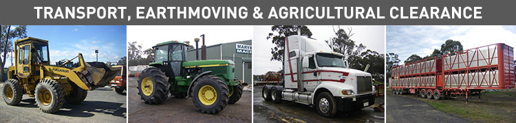 Transport, Earthmoving & Agricultural Clearance