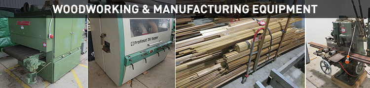 Woodworking & Manufacturing Equipment