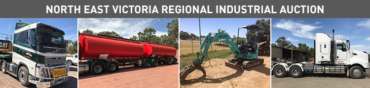 North East VIC Industrial Auction – Transport, Earthmoving