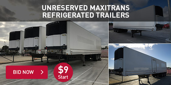 Unreserved Maxitrans Refrigerated Trailers