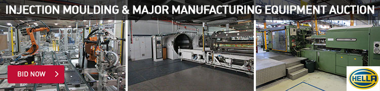 Injection Moulding & Major Manufacturing Equipment
