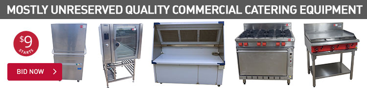 MOSTLY UNRESERVED QUALITY COMMERCIAL CATERING EQUIPMENT