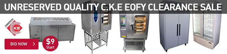 UNRESERVED QUALITY C.K.E EOFY CLEARANCE SALE