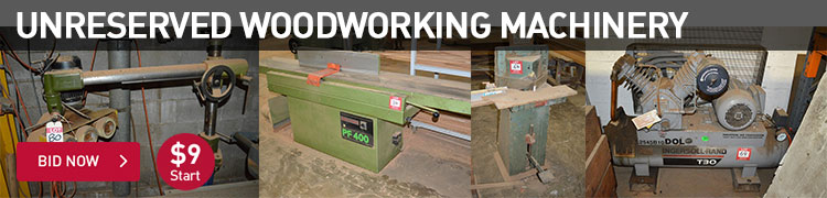 Unreserved Woodworking Machinery
