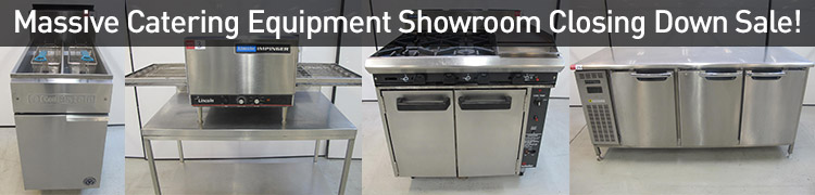 MASSIVE CATERING EQUIPMENT SHOWROOM CLOSING DOWN SALE!