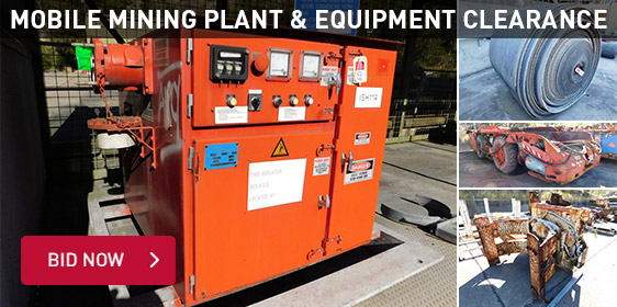 Mobile Mining Plant & Equipment Clearance