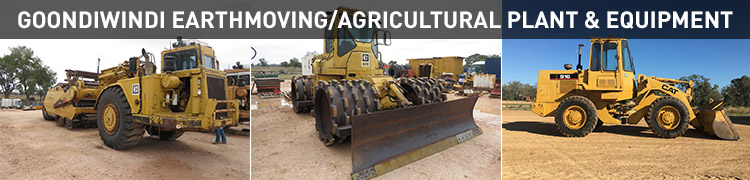 Goondiwindi Earthmoving/Agricultural Plant & Equipment
