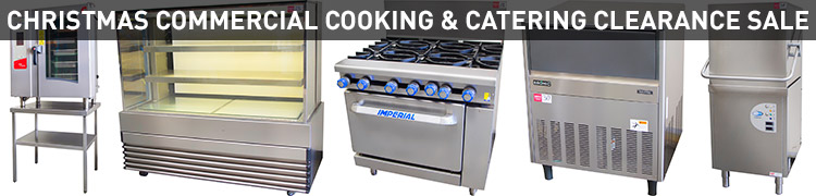 CHRISTMAS COMMERCIAL COOKING & CATERING CLEARANCE SALE