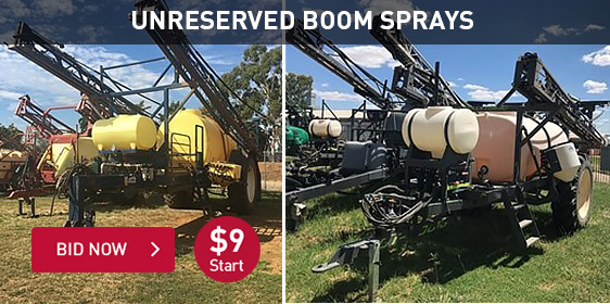 Unreserved Boom Sprays