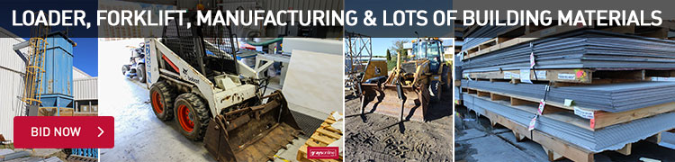 Loader, Forklift, Manufacturing & Lots Of Building Materials
