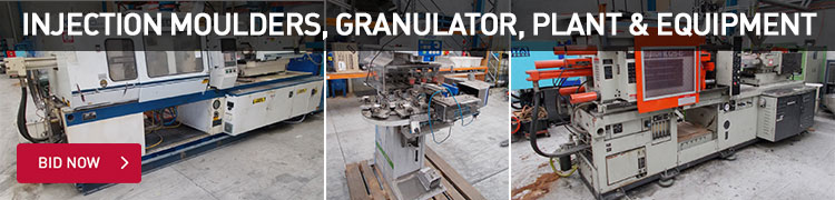 Injection Moulders, Granulator, Plant & Equipment