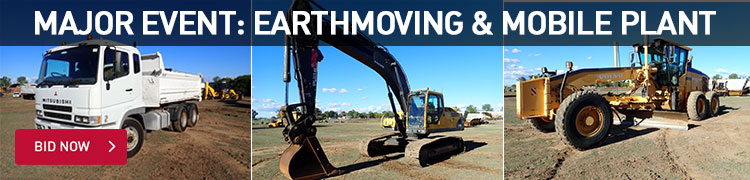 Major Event: Earthmoving and Mobile Plant