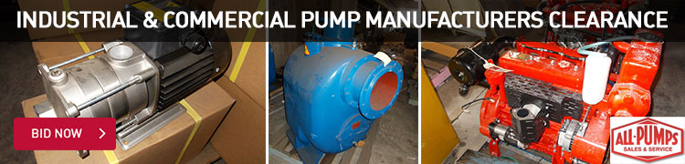 Industrial & Commercial Pump Manufacturers Clearance