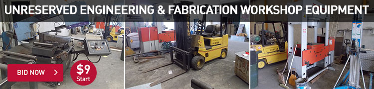Unreserved - Engineering and Fabrication Workshop Equipment