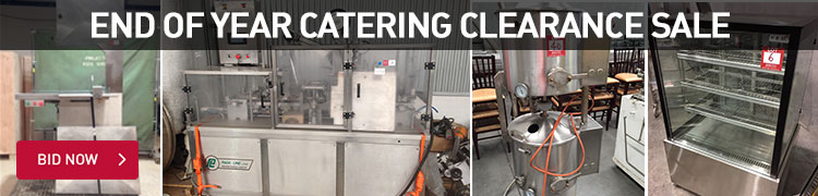 End of Year Catering Eqiupment Clearance Sale