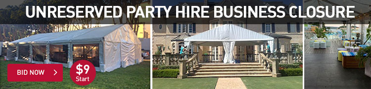 Unreserved Party Hire Business Closure