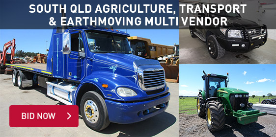 South QLD Agriculture, Transport & Earthmoving Multi Vendor