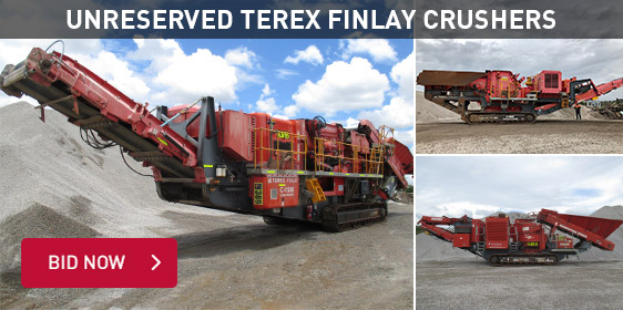 Unreserved Terex Finlay Crushers