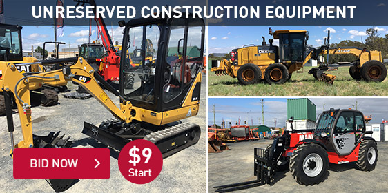 Unreserved Construction Equipment
