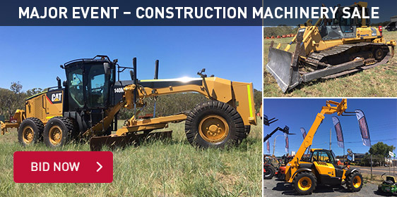 Major Event - Construction Machinery Sale