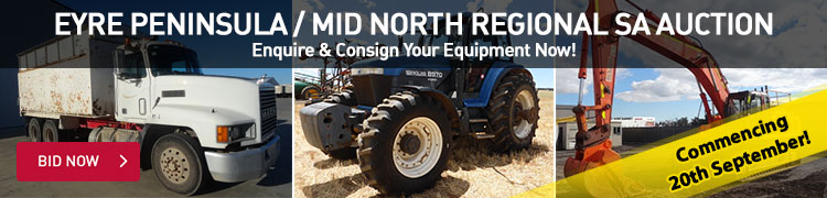 Eyre Peninsula / Mid-North Regional Auction (CONSIGN NOW)