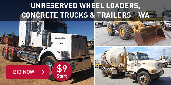 Unreserved WA Auction