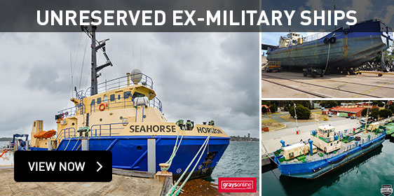 Unreserved Ex-Military Ships