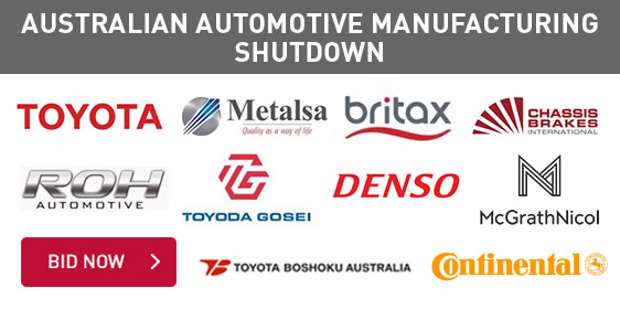 Australian Automotive Manufacturing Shutdown