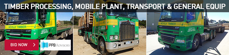 Timber Processing, Mobile Plant, Transport & General Equip
