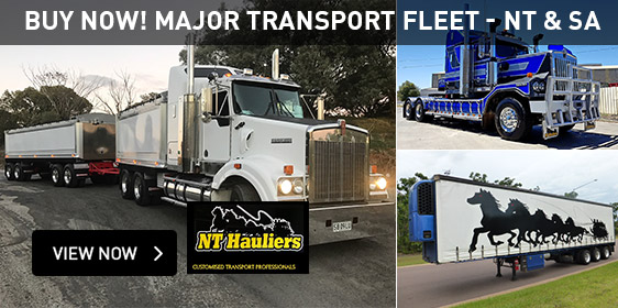 Buy Now! Major Transport Fleet - NT & SA