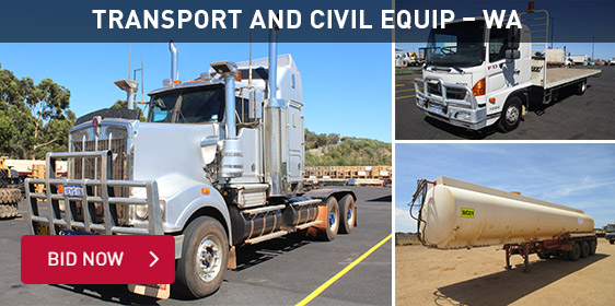 Transport and Civil Equip - WA