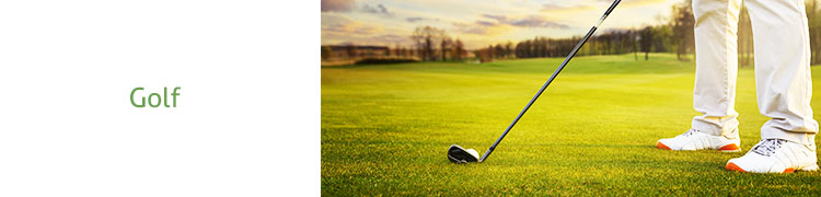Check out the huge range of golf equipment!