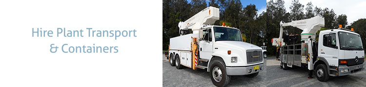 Hire Plant, Transport Buildings & Containers