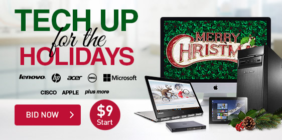 Tech Up for the Holidays