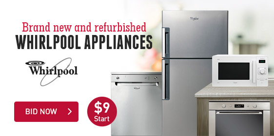 Brand New and Refurbished Whirlpool Appliances