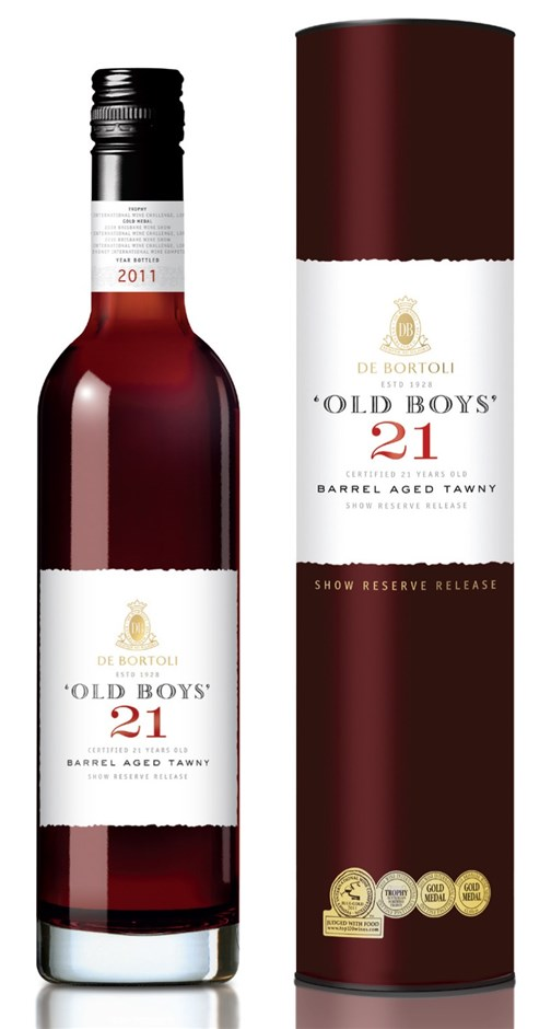 De Bortoli `Old Boys` 21YO Tawny NV (6 x 500mL Giftboxed), AUS.
