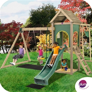 Plum Kudu Wooden Climbing Frame Outdoor Play Centre