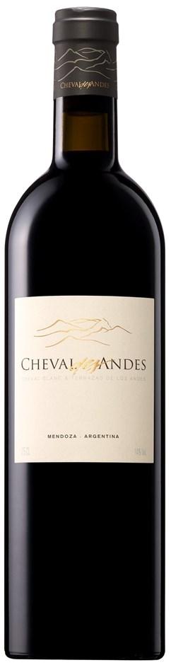 Cheval des Andes 2015 (6 x 750mL), Mendoza, Argentina.