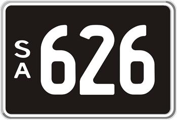 3 Digit Number Plates