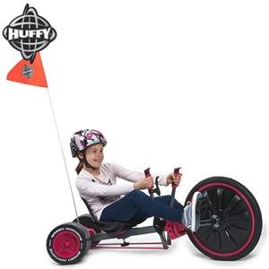 "Huffy Green Machine Pink 20"" Tri-Wheel Ride-On Toy"