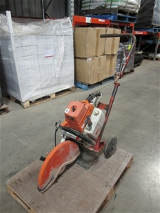 Stihl Ts 760 Concrete Cutting Saw On Hand Trolley Auction