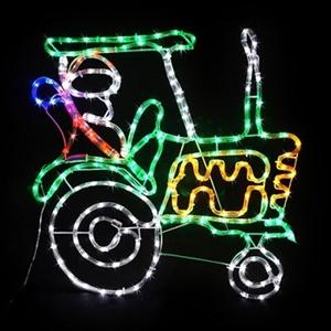 Buy santa tractor multi coloured led rope light graysonline australia santa tractor multi coloured led rope light aloadofball Images