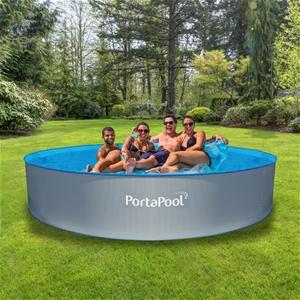 Portapool Above Grould 39 Splasher 39 Round Pool Auction 0001 3130281 Graysonline Australia