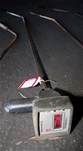 Furnace, Metal Lance Thermometer Reader, Heraeus Electro-Nite Digilance-IV,