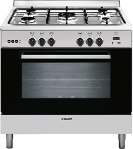 Glem 90cm Freestanding All Gas Cooker -