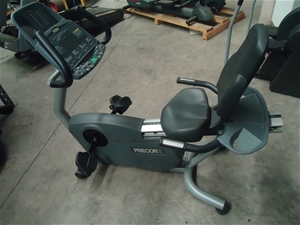 Commercial Recumbent Bike, Precor C846i, Drive System: Double step-up drive