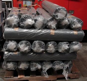 Pallets of Industrial Builders Plastic
